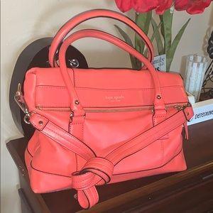 Kate Spade Crossbody/ shoulder coral flap bag